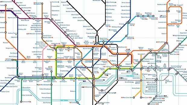 Mapa Metro De Londres.Por Que Los Mapas De Metro Parecen Circuitos Electricos