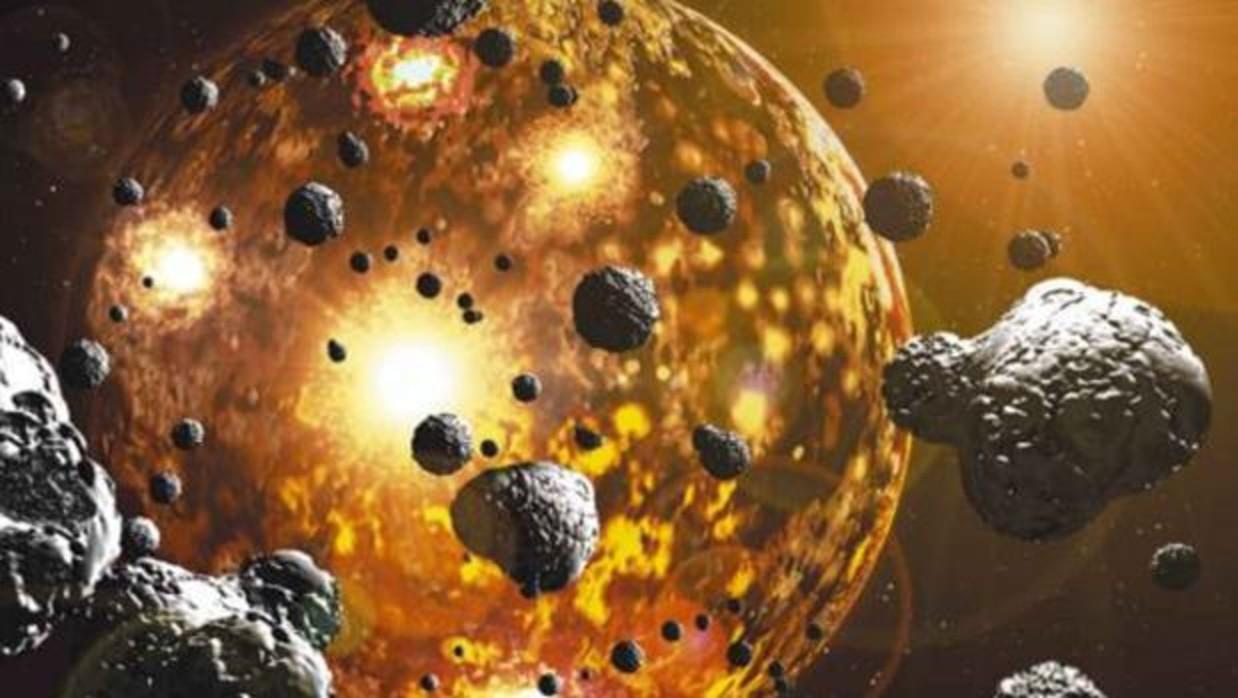 La vida pudo empezar en Marte 500 millones de años antes que en la Tierra