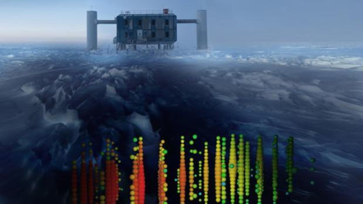 Desvelado el origen de la misteriosa partícula fantasma hallada en la Antártida