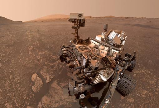 Autorretrato del rover Curiosity, tomado en mayo de este año