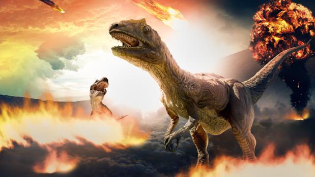 Nada Mas Que El Asteroide Mato A Los Dinosaurios El investigador estadounidense steve self analiza una de las formaciones estudiadas, en pune (india). asteroide mato a los dinosaurios