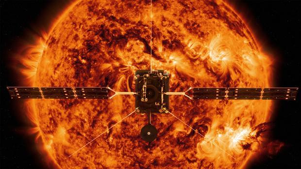 Representación de la Solar Orbiter. Se acercará a «solo» 42 millones de kilómetros del Sol