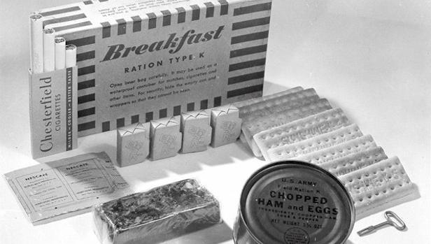 Kit de desayuno de la ración K