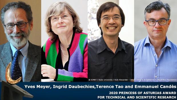 Premio Princesa de Asturias de Investigación Científica y Técnica 2020: a los padres de la imagen comprimida