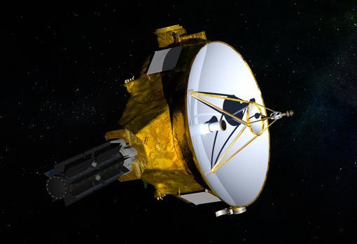 Representación de la nave «New Horizons»