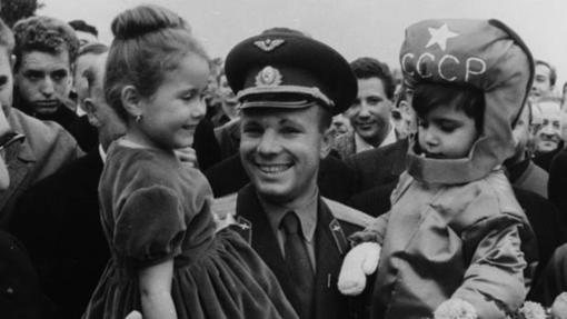 Yuri Gagarin en una de sus últimas fotos