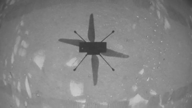 Histórico: el helicóptero Ingenuity de la NASA realizó su primer vuelo en Marte