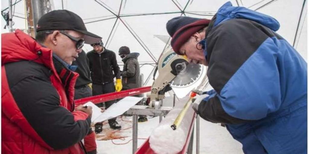 Descubren virus desconocidos de hace 15.000 años en un glaciar en China