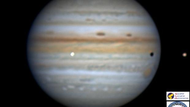 Detectan en Júpiter un impacto como cien bombas de Hiroshima
