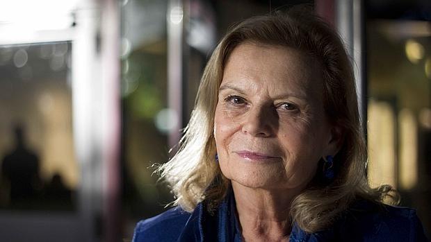 La escritora Carme Riera, fotografiada en Barcelona