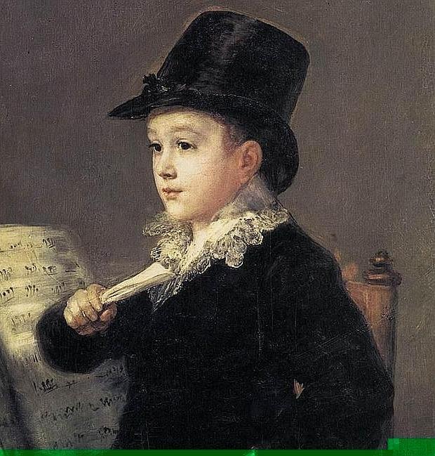 El «Marianito» de Goya se exhibe temporalmente en Zaragoza