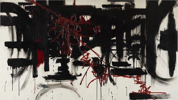 «Composición», de Georges Mathieu (1951)