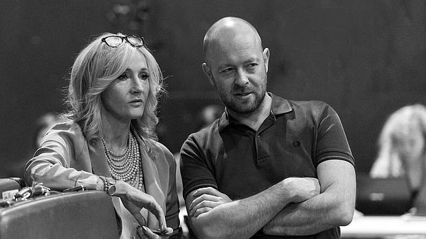 J. K. Rowling y John Tiffany, director de «Harry Potter and the Cursed Child»