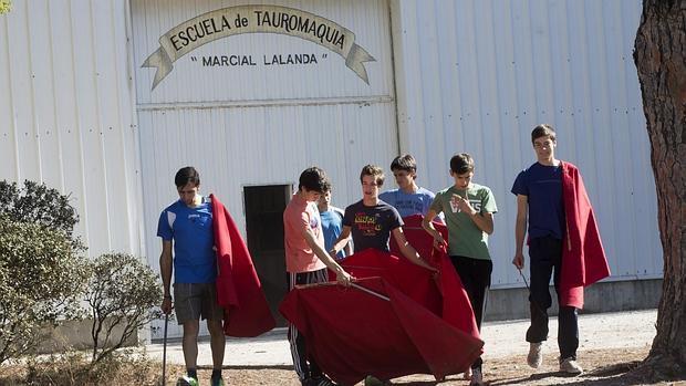 Alumnos de la Marcial Lalanda