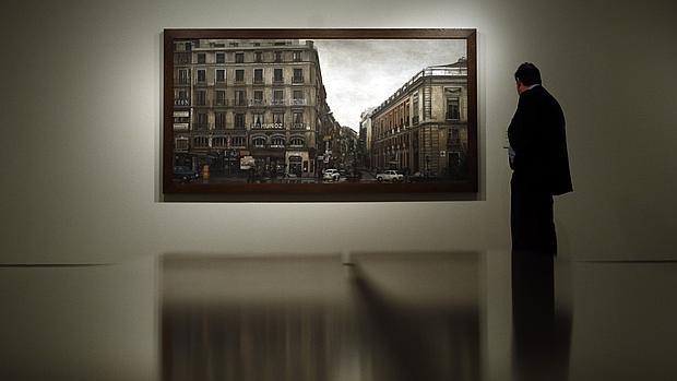 Una de las obras que pueden verse en la exposición «Realistas de Madrid»