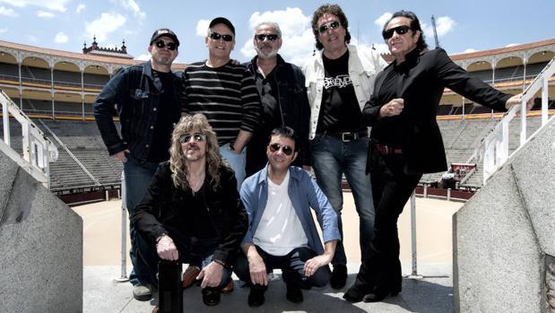 Los músicos presentes en la presentación de Rocktiembre en Las Ventas