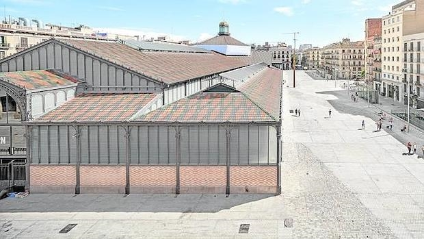 Imagen del entorno del mercado del Born (Barcelona), de Vora Arquitectura