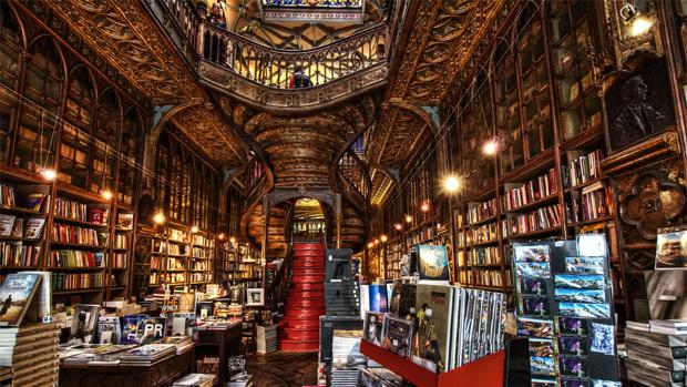 Librería Lello de Oporto, lugar elegido para la presentación del libro