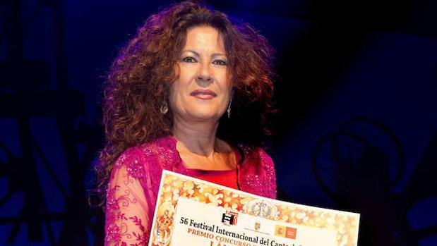 La ganadora de la Lámpara Minera, Antonia Contreras