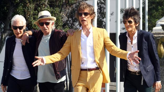 Charlie Watts, Keith Richards, Mick Jagger y Ronnie Wood, integrantes de los Rolling Stones