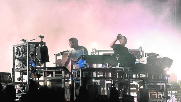 The Chemical Brothers en directo