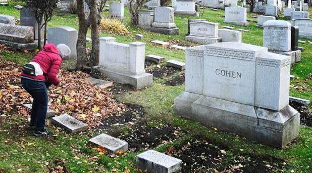 La tumba del cantante