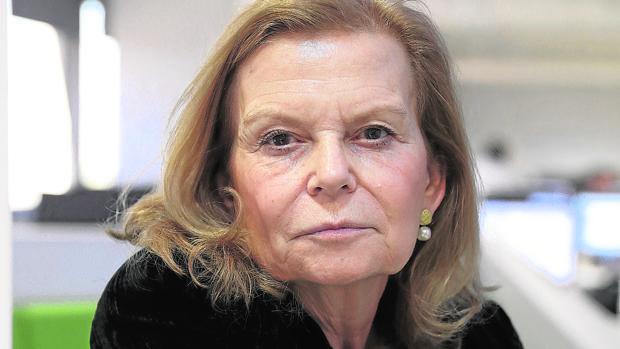 La escritora y académica Carme Riera