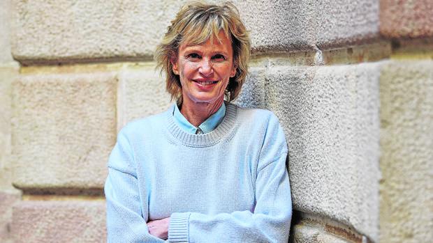 La escritora Siri Hustvedt, fotografiada durante su reciente visita a España