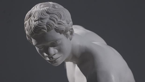 El «Discóbolo negro de Mirón»