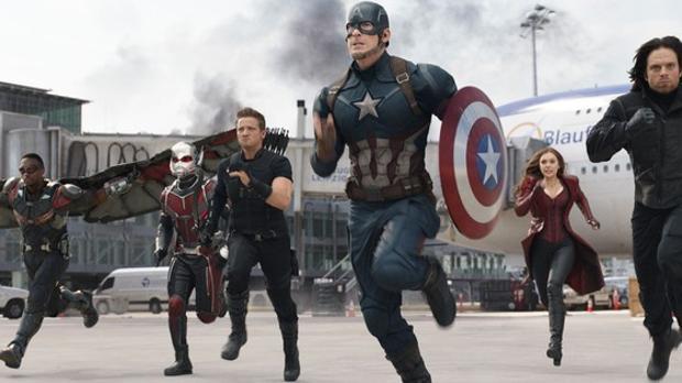 Una escena de «Capitán América: Civil War»
