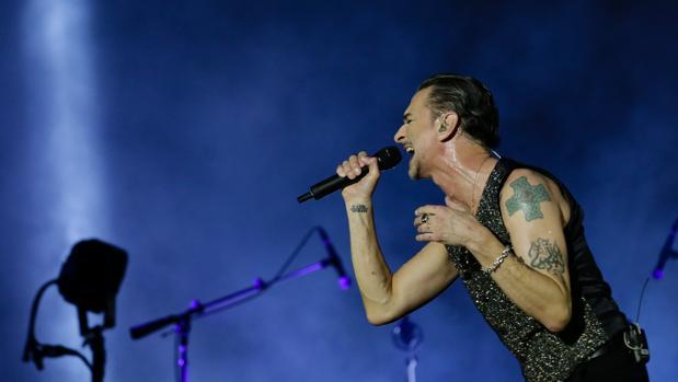 El cantante de Depeche Mode Dave Gahan, durante su concierto en el NOS Alive