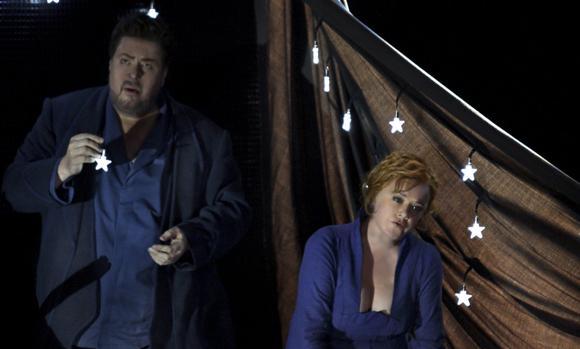 Escena de «Tristan e Isolde»