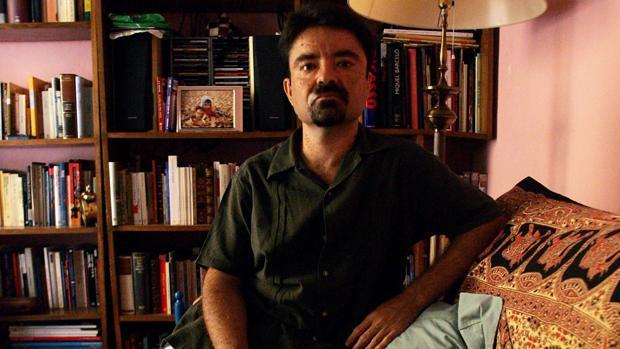 Juan Casamayor, durante una entrevista con ABC en 2006