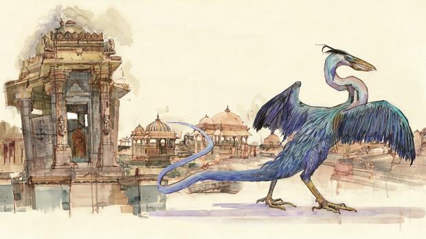 Occamy, uno de lo «Animales fantásticos» de J. K. Rowling
