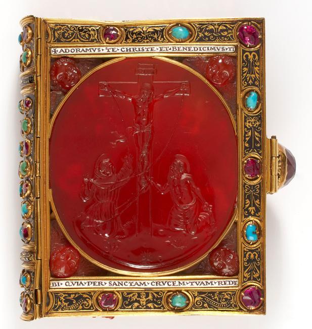 Fotografía facilitada por el Louvre de «El libro de Horas de Francisco I» (s.XVI)