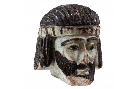 La pequeña escultura podría tratarse de un rey bíblico