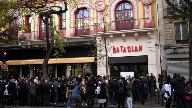 La sala Bataclan, en París