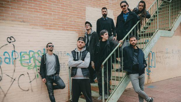 Los integrantes de la banda de rock valenciana Vadebo