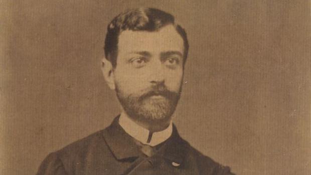 Alejandro Lallemand, poco antes de partir hacia Santiago de Cuba en 1898