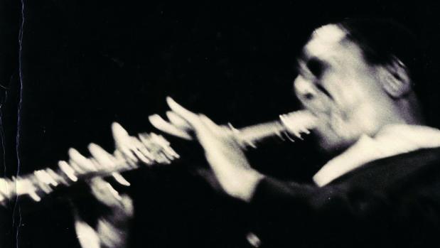 «Trane» en éxtasis durante una actuación