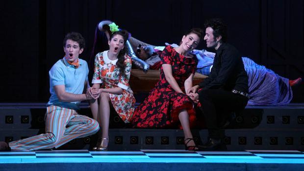 Una escena del espectáculo