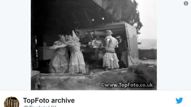 El archivo fotográfico que muestra las curiosas imagánes descubiertas