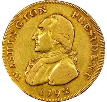 La moneda subastada por Heritage Auctions