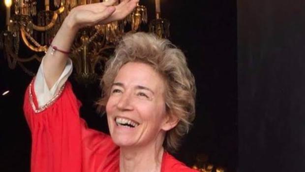 Kathleen López Kilcoyne, en el escenario que tanto amaba