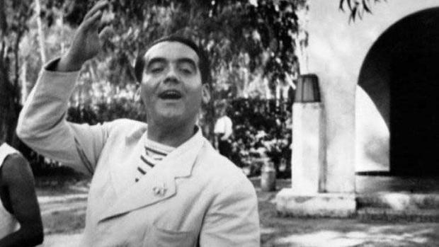 Imagen de Lorca tomada en 1925
