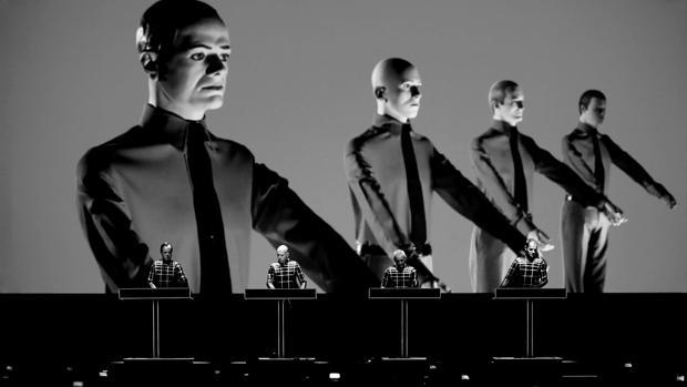 La banda alemana de música electrónica Kraftwerk