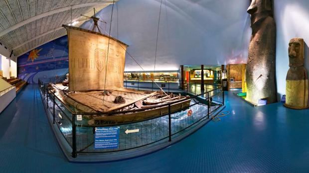 El museo Kon-Tiki, en Noruega