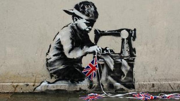«Slave Labour», de Banksy