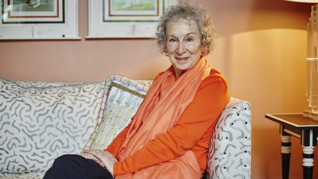 Margaret Atwood, fotografiada en Londres, poco después de la última entrevista que concedió a ABC