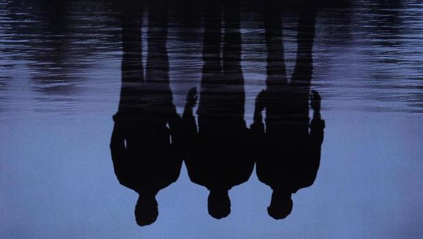 Detalle del cartel de «Mystic River»